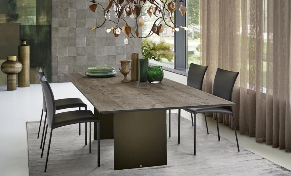 DINING TABLE ATLAS 1280-II BY DESIGN GEORG APPELTSHAUSER 2006/2014